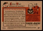 2007 Topps Heritage Flashbacks #7 F Eddie Yost  Back Thumbnail