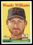2007 Topps Heritage #35 YT Woody Williams   Front Thumbnail