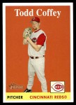 2007 Topps Heritage #169  Todd Coffey  Front Thumbnail