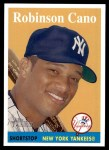2007 Topps Heritage #20 YT Robinson Cano   Front Thumbnail