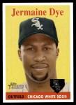 2007 Topps Heritage #177  Jermaine Dye  Front Thumbnail