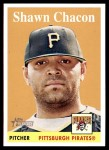 2007 Topps Heritage #87 WN Shawn Chacon   Front Thumbnail
