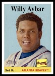 2007 Topps Heritage #128  Willy Aybar  Front Thumbnail