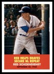 2007 Topps Heritage Flashbacks #3 F Red Schoendienst  Front Thumbnail
