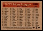 2007 Topps Heritage #44   Washington Nationals Team Back Thumbnail