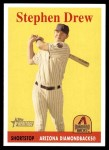 2007 Topps Heritage #81 A Stephen Drew  Front Thumbnail