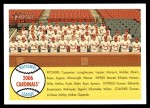 2007 Topps Heritage #216   St. Louis Cardinals Team Front Thumbnail