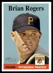 2007 Topps Heritage #226  Brian Rogers  Front Thumbnail
