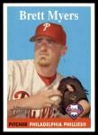 2007 Topps Heritage #326  Brett Myers  Front Thumbnail