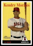 2007 Topps Heritage #203  Kendry Morales  Front Thumbnail