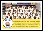 2007 Topps Heritage #341   Pittsburgh Pirates Team Front Thumbnail