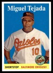2007 Topps Heritage #259  Miguel Tejada  Front Thumbnail
