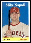2007 Topps Heritage #229  Mike Napoli  Front Thumbnail