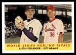 2007 Topps Heritage #289  Justin Verlander / Jeff Weaver  Front Thumbnail
