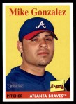 2007 Topps Heritage #241  Mike Gonzalez  Front Thumbnail