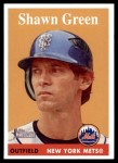 2007 Topps Heritage #228  Shawn Green  Front Thumbnail