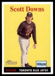 2007 Topps Heritage #242  Scott Downs  Front Thumbnail