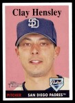 2007 Topps Heritage #380  Clay Hensley  Front Thumbnail