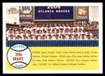 2007 Topps Heritage #377   Atlanta Braves Team Front Thumbnail