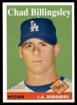 2007 Topps Heritage #313  Chad Billingsley  Front Thumbnail