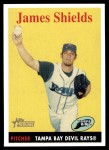 2007 Topps Heritage #237  James Shields  Front Thumbnail