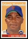2007 Topps Heritage #349  Orlando Hernandez  Front Thumbnail