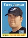 2007 Topps Heritage #395  Casey Janssen  Front Thumbnail