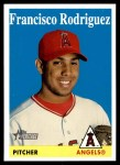 2007 Topps Heritage #410  Francisco Rodriguez  Front Thumbnail