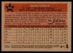 2007 Topps Heritage #494   -  Brian Fuentes All-Star Back Thumbnail
