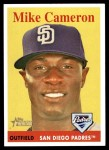 2007 Topps Heritage #430  Mike Cameron  Front Thumbnail