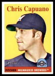 2007 Topps Heritage #421  Chris Capuano  Front Thumbnail
