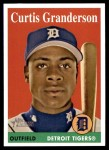 2007 Topps Heritage #434  Curtis Granderson  Front Thumbnail