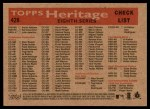 2007 Topps Heritage #428   Cincinnati Reds Team Back Thumbnail
