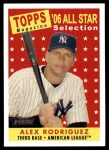 2007 Topps Heritage #481   -  Alex Rodriguez All-Star Front Thumbnail