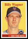 2007 Topps Heritage #412  Billy Wagner  Front Thumbnail