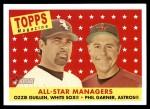 2007 Topps Heritage #475   -  Ozzie Guillen / Phil Garner All-Star Front Thumbnail