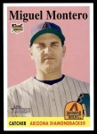 2007 Topps Heritage #445  Miguel Montero  Front Thumbnail
