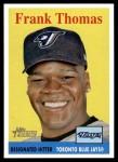 2007 Topps Heritage #409  Frank Thomas  Front Thumbnail