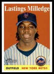 2007 Topps Heritage #473  Lastings Milledge  Front Thumbnail