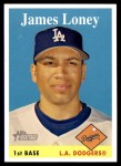 2007 Topps Heritage #441  James Loney  Front Thumbnail