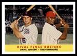 2007 Topps Heritage #436  David Wright / Ryan Howard  Front Thumbnail
