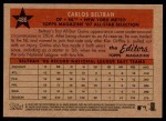 2007 Topps Heritage #486   -  Carlos Beltran All-Star Back Thumbnail