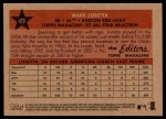 2007 Topps Heritage #479   -  Mark Loretta All-Star Back Thumbnail