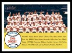 2007 Topps Heritage #408   Baltimore Orioles Team Front Thumbnail
