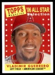 2007 Topps Heritage #485   -  Vladimir Guerrero All-Star Front Thumbnail