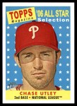 2007 Topps Heritage #478   -  Chase Utley All-Star Front Thumbnail