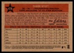 2007 Topps Heritage #478   -  Chase Utley All-Star Back Thumbnail
