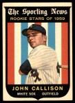 1959 Topps #119  Johnny Callison  Front Thumbnail