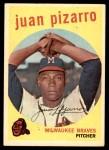 1959 Topps #188  Juan Pizarro  Front Thumbnail