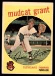 1959 Topps #186  Jim Mudcat Grant  Front Thumbnail